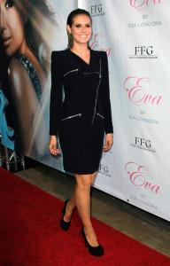 Heidi Klum attends the launch of Eva Longorias fragrance Eva at Beso on April 27th 2010 in Los Angeles California 3