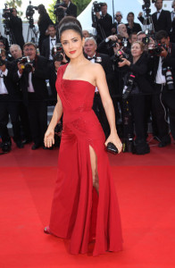 Salma Hayek attends the IL Gattopardo Premiere at the Palais des Festivals during the 63rd Annual Cannes Film Festival on May 14th 2010 in Cannes 3