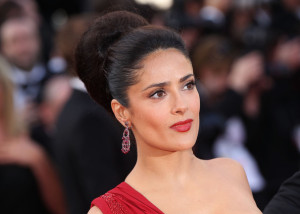 Salma Hayek attends the IL Gattopardo Premiere at the Palais des Festivals during the 63rd Annual Cannes Film Festival on May 14th 2010 in Cannes 5