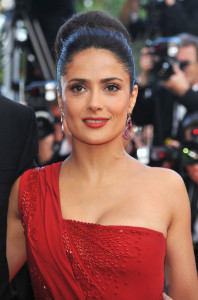 Salma Hayek attends the IL Gattopardo Premiere at the Palais des Festivals during the 63rd Annual Cannes Film Festival on May 14th 2010 in Cannes 1