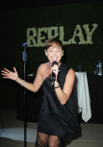 Natalie Imbruglia performs at the Replay Party during the 63rd Annual Cannes Film Festival at the Star Style Lounge on May 19th 2010 in Cannes France 4