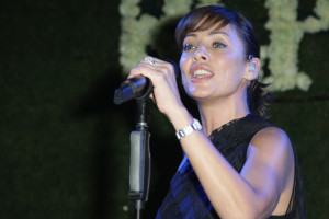 Natalie Imbruglia performs at the Replay Party during the 63rd Annual Cannes Film Festival at the Star Style Lounge on May 19th 2010 in Cannes France 5