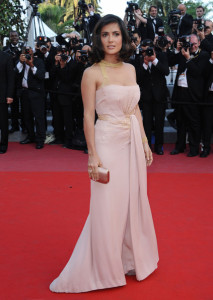 Salma Hyek attends the 63rd Annual Cannes Film Festival for The Tree Premiere on May 23rd 2010 at the Palais des Festivals in France 1