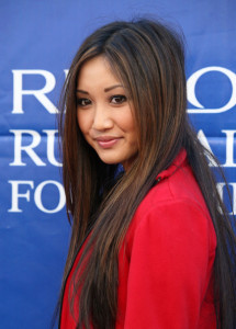 Brenda Song attends the 17th Annual EIF Revlon RunWalk For Women on May 8th 2010 in Los Angeles 1