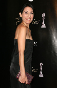 Lisa Edelstein attends the Alliance For Women In Medias 2010 Gracies Awards on May 25th 2010 in Beverly Hills California 1