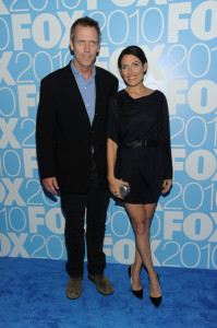 Lisa Edelstein and Hugh Laurie at the 2010 FOX Upfront after party at Wollman Rink  Central Park on May 17th 2010 in New York 1