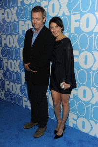 Lisa Edelstein and Hugh Laurie at the 2010 FOX Upfront after party at Wollman Rink  Central Park on May 17th 2010 in New York 2