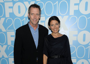 Lisa Edelstein and Hugh Laurie at the 2010 FOX Upfront after party at Wollman Rink  Central Park on May 17th 2010 in New York 3
