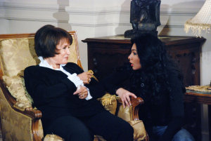 Mirhan Hussein picture on the filming set of the new series which is scedualed to air in Ramdan of this year 2