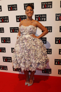 Alicia Keys arrives at the Keep A Child Alive Black Ball held at St Johns Smith Square on May 27th 2010 in London England 2