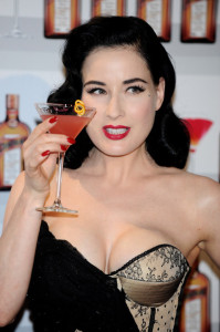 Dita Von Teese attends Cointreau launching event held on May 27th 2010 at the Me Hotel in Madrid Spain 3