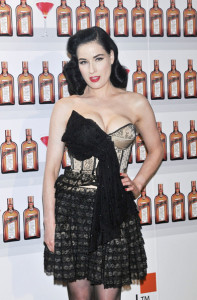 Dita Von Teese attends Cointreau launching event held on May 27th 2010 at the Me Hotel in Madrid Spain 2