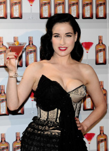 Dita Von Teese attends Cointreau launching event held on May 27th 2010 at the Me Hotel in Madrid Spain 4