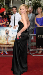 Kim Cattrall attends the UK premiere of Sex And The City 2 at Odeon Leicester Square on May 27th 2010 in London England 3