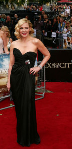 Kim Cattrall attends the UK premiere of Sex And The City 2 at Odeon Leicester Square on May 27th 2010 in London England 2