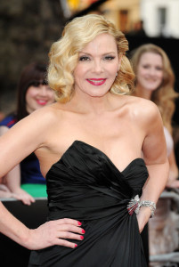 Kim Cattrall attends the UK premiere of Sex And The City 2 at Odeon Leicester Square on May 27th 2010 in London England 4