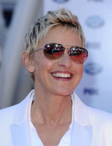 Ellen DeGeneres arrives at the 2010 American Idol Finale held on May 26th 2010 at the Nokia Theatre in Los Angeles 5