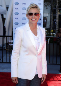 Ellen DeGeneres arrives at the 2010 American Idol Finale held on May 26th 2010 at the Nokia Theatre in Los Angeles 2