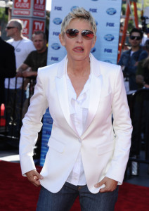 Ellen DeGeneres arrives at the 2010 American Idol Finale held on May 26th 2010 at the Nokia Theatre in Los Angeles 4