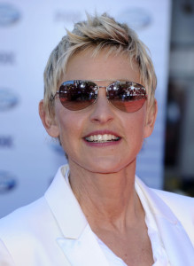 Ellen DeGeneres arrives at the 2010 American Idol Finale held on May 26th 2010 at the Nokia Theatre in Los Angeles 3