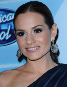 Kara DioGuardi at the 2010 American Idol Finale held on May 26th 2010 at the Nokia Theatre in Los Angeles 9