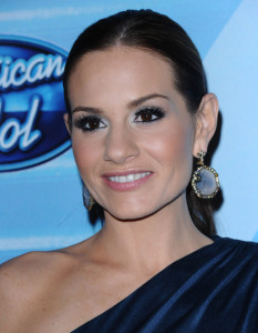 Kara DioGuardi at the 2010 American Idol Finale held on May 26th 2010 at the Nokia Theatre in Los Angeles 8