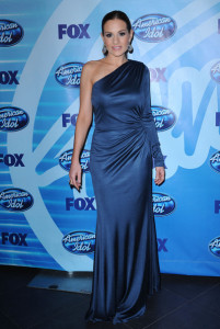 Kara DioGuardi at the 2010 American Idol Finale held on May 26th 2010 at the Nokia Theatre in Los Angeles 6