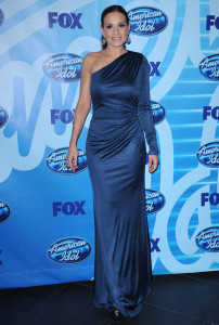 Kara DioGuardi at the 2010 American Idol Finale held on May 26th 2010 at the Nokia Theatre in Los Angeles 5