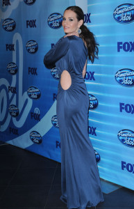 Kara DioGuardi at the 2010 American Idol Finale held on May 26th 2010 at the Nokia Theatre in Los Angeles 7