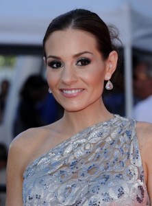 Kara DioGuardi at the 2010 American Idol Finale held on May 26th 2010 at the Nokia Theatre in Los Angeles 1