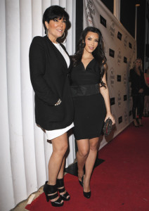 Kim Kardashian and her mother Kris picture on May 27th 2010 as they leave Dan Tanas restaurant in West Hollywood 3