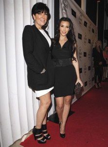 Kim Kardashian and her mother Kris picture on May 27th 2010 as they leave Dan Tanas restaurant in West Hollywood 2