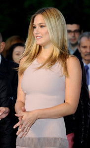 Bar Refaeli hosting a Lexus party on May 11th 2010 at the Villamagna Hotel in Madrid Spain 1