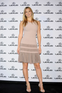 Bar Refaeli hosting a Lexus party on May 11th 2010 at the Villamagna Hotel in Madrid Spain 2