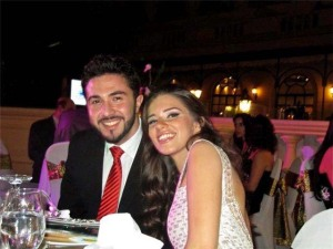 Mahmoud Shokry recent picture after he left star academy 7th season with Lara Scandar