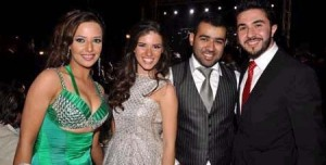 Mahmoud Shokry recent picture after he left star academy 7th season with Bashar Shati and Lara Scandar