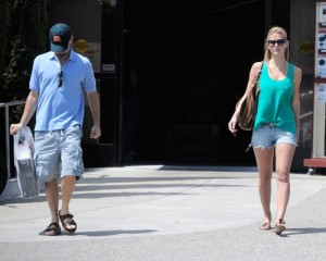Bar Refaeli and Leonardo DiCaprio spotted together on June 1st 2010 as they went shopping at Fred Segal in Hollywood 4