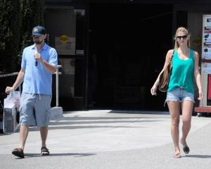 Bar Refaeli and Leonardo DiCaprio spotted together on June 1st 2010 as they went shopping at Fred Segal in Hollywood 1