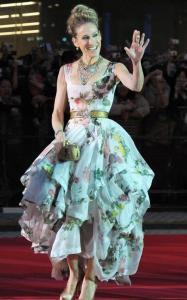 Sarah Jessica Parker on June 1st 2010 at the sex and the City 2 premiere in Tokyo Japan