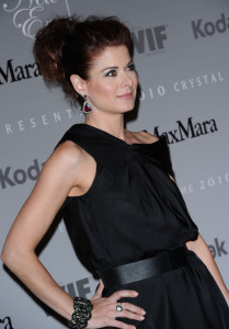 Debra Messing attends the 2010 Crystal Lucy Awards A New Era at Hyatt Regency Century Plaza on June 1st 2010 in Century City California 1