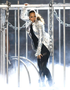 Alicia Keys picture from her performance at the Palau Sant Jordi on June 2nd 2010 in Barcelona Spain 2