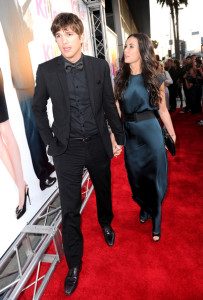 Demi Moore and Ashton Kutcher attend the Killers mopvie premiere held on June 1st 2010 at ArcLight Cinemas Cinerama Dome in Hollywood 3