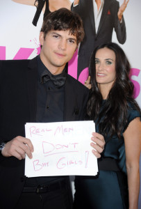 Demi Moore and Ashton Kutcher attend the Killers mopvie premiere held on June 1st 2010 at ArcLight Cinemas Cinerama Dome in Hollywood 1