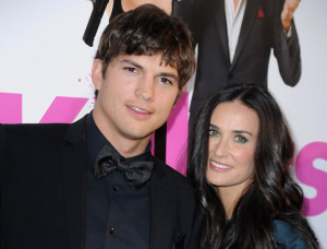 Demi Moore and Ashton Kutcher attend the Killers mopvie premiere held on June 1st 2010 at ArcLight Cinemas Cinerama Dome in Hollywood 6