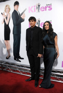 Demi Moore and Ashton Kutcher attend the Killers mopvie premiere held on June 1st 2010 at ArcLight Cinemas Cinerama Dome in Hollywood 5