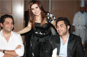 Amani Sweisi picture in June 2010 during her new album Launch titled ana mosh malak 6