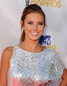 Audrina Patridge arrives at the 2010 MTV Movie Awards held at the Gibson Amphitheatre on June 6th 2010 at Universal Studios in California 2