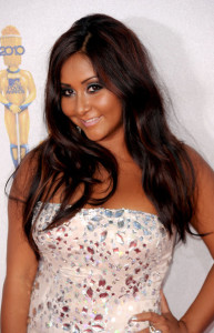 Nicole Polizzi at the 2010 MTV Movie Awards held at the Gibson Amphitheatre on June 6th 2010 at Universal Studios in California 4