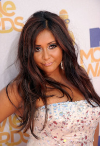Nicole Polizzi at the 2010 MTV Movie Awards held at the Gibson Amphitheatre on June 6th 2010 at Universal Studios in California 1