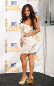 Nicole Polizzi at the 2010 MTV Movie Awards held at the Gibson Amphitheatre on June 6th 2010 at Universal Studios in California 6